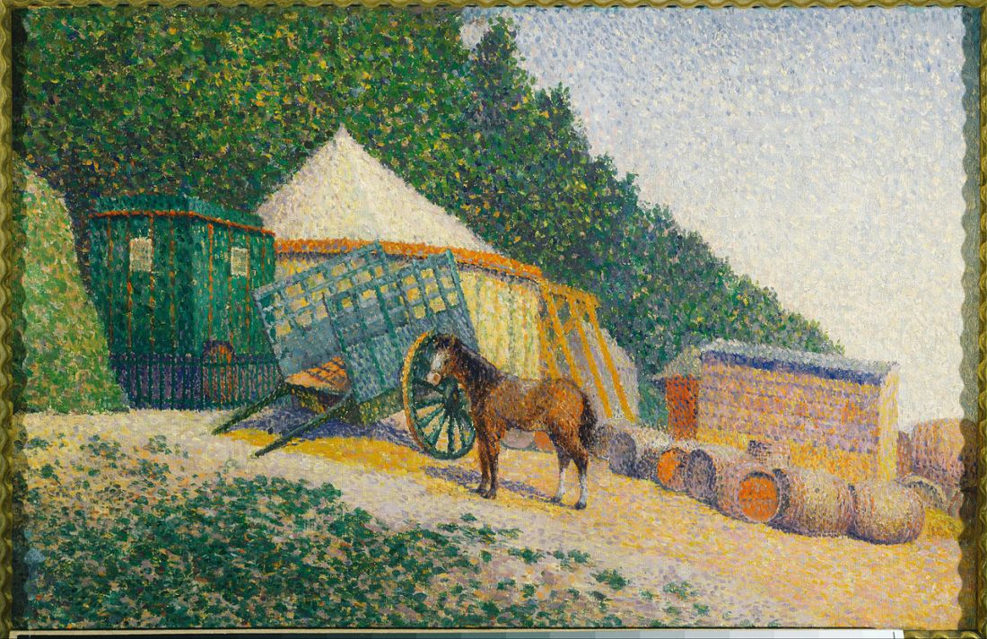 1280px-Albert_Dubois-Pillet_-_Little_Circus_Camp_-_Google_Art_Project