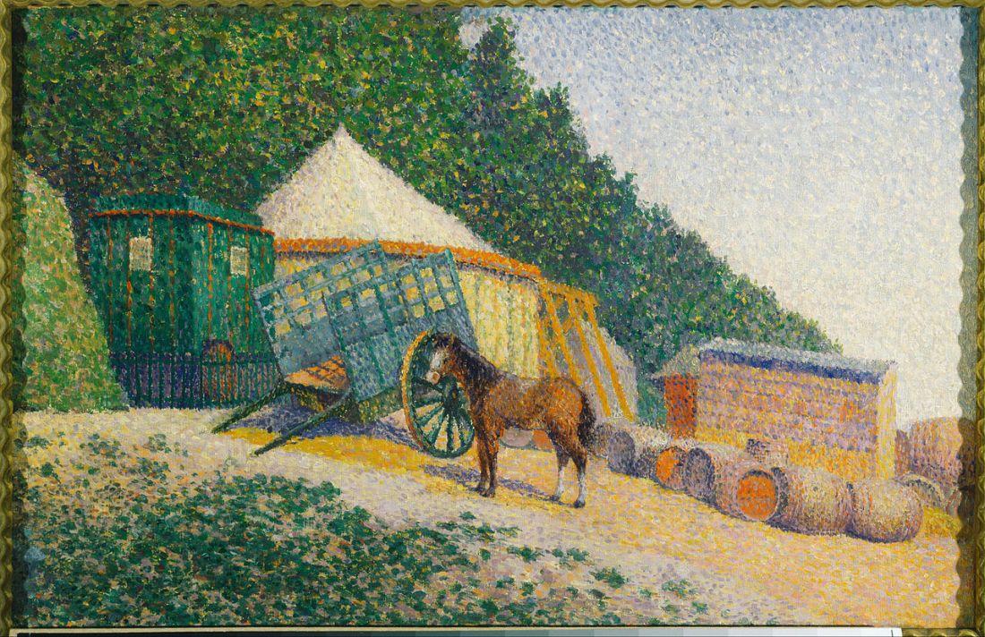 1280px-Albert_Dubois-Pillet_-_Little_Circus_Camp_-_Google_Art_Project