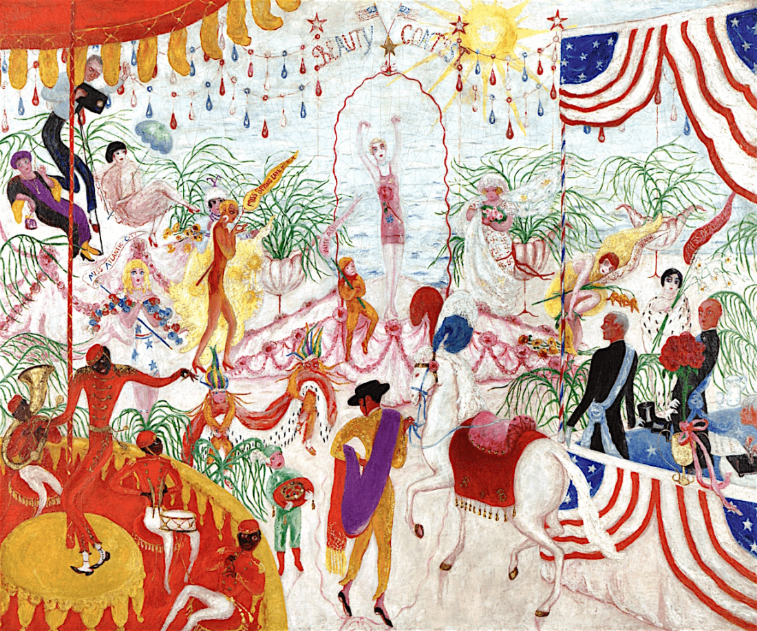 Beauty-Contest-to-the-Memory-of-P.T.-Barnum-by-Florine-Stettheimer-