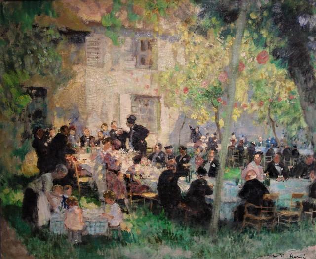 """""""Banquet de noces."""" ca. 1930."""
