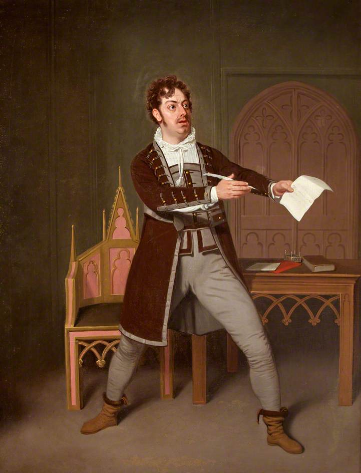 de Wilde, Samuel, 1748-1832; Charles Farley as Francisco in 'A Tale of Mystery' by Thomas Holcroft