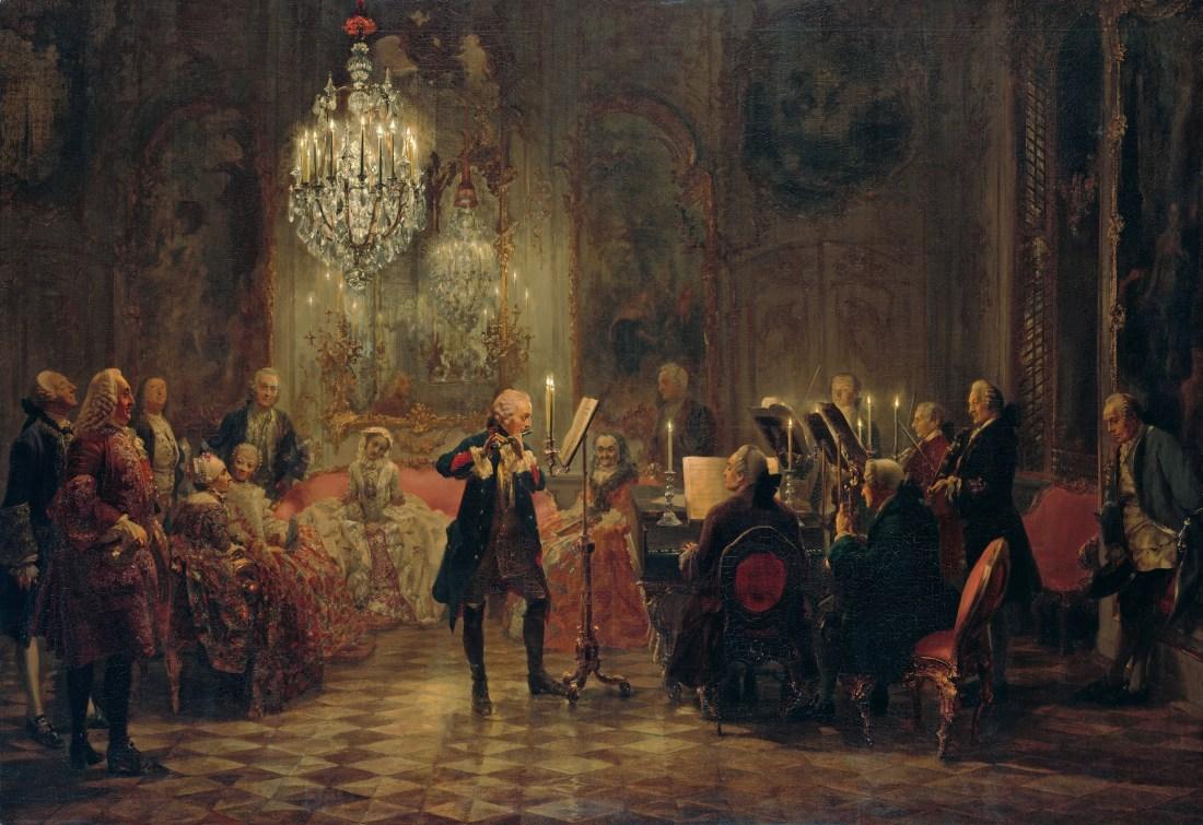 Adolph_Menzel_-_Flötenkonzert_Friedrichs_des_Großen_in_Sanssouci_-_Google_Art_Project
