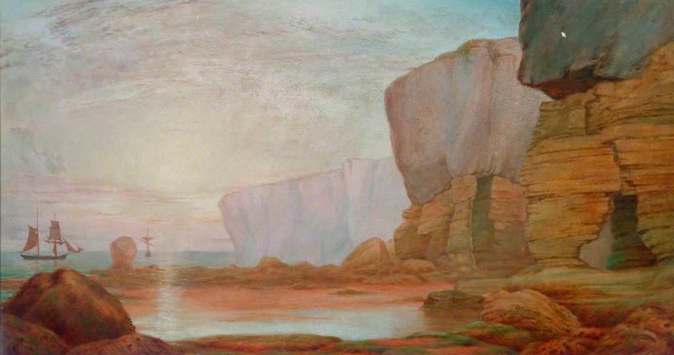 Shotton, James, 1824-1896; Fairies' Kettle Rocks, Cumbria