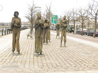 Famine Statues