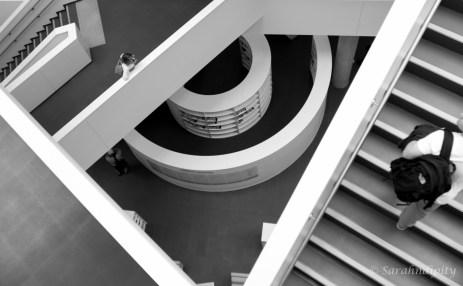 Halifax Library Stairs2BWWM