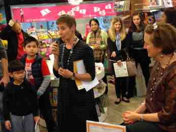 BOOKAZINE LAUNCH #11 WITH ROWENA AND PETRONELLA AT THE BACK!