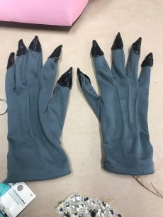 Wolfs Gloves Finger tips