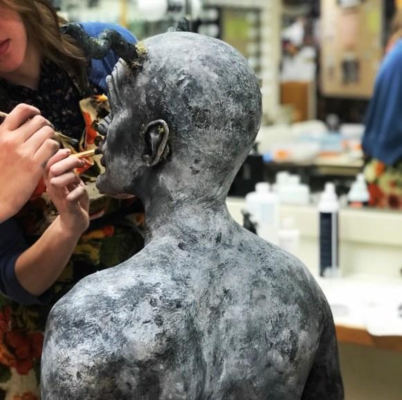 Stone Skin Paint Work