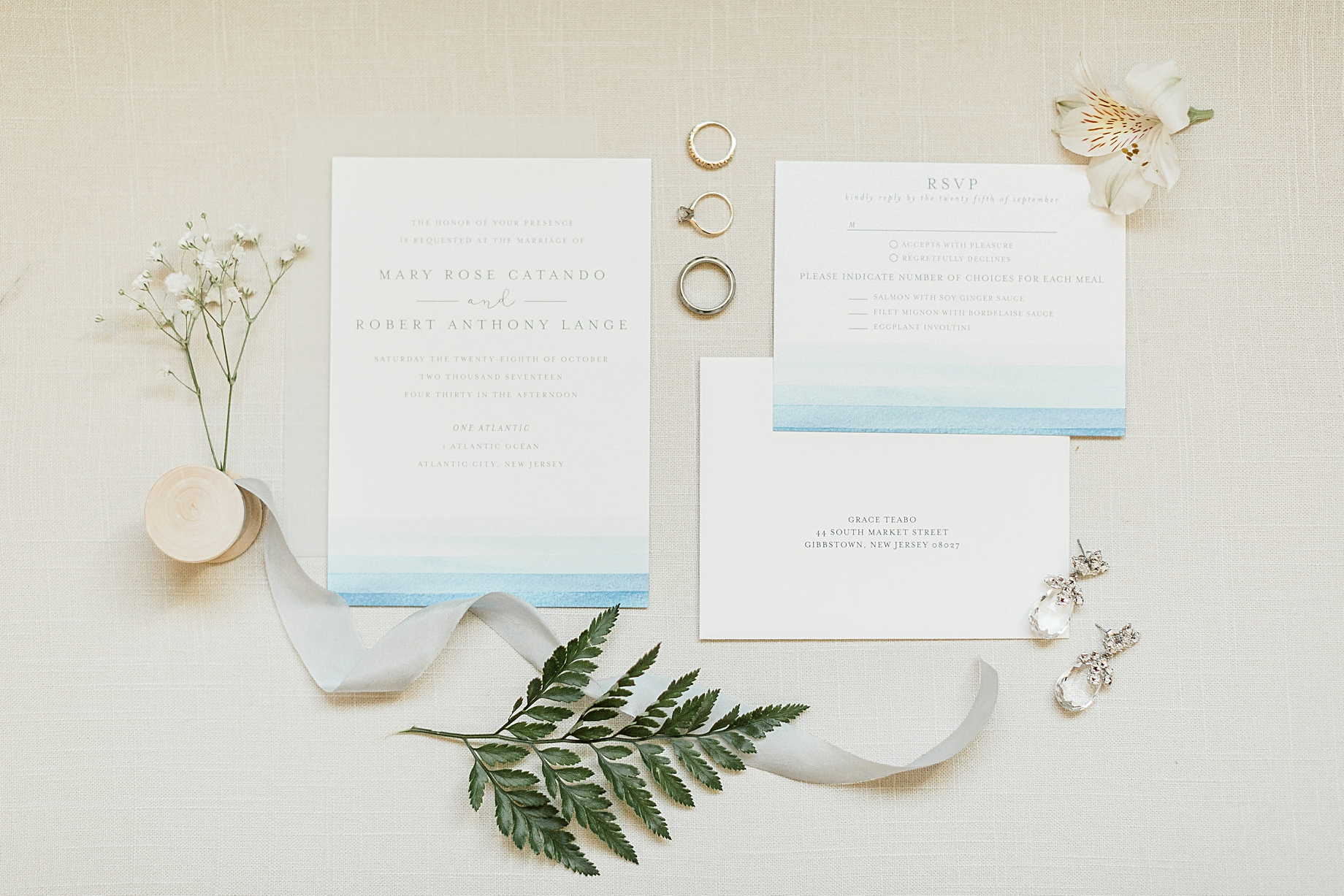 One Atlantic beach Wedding details