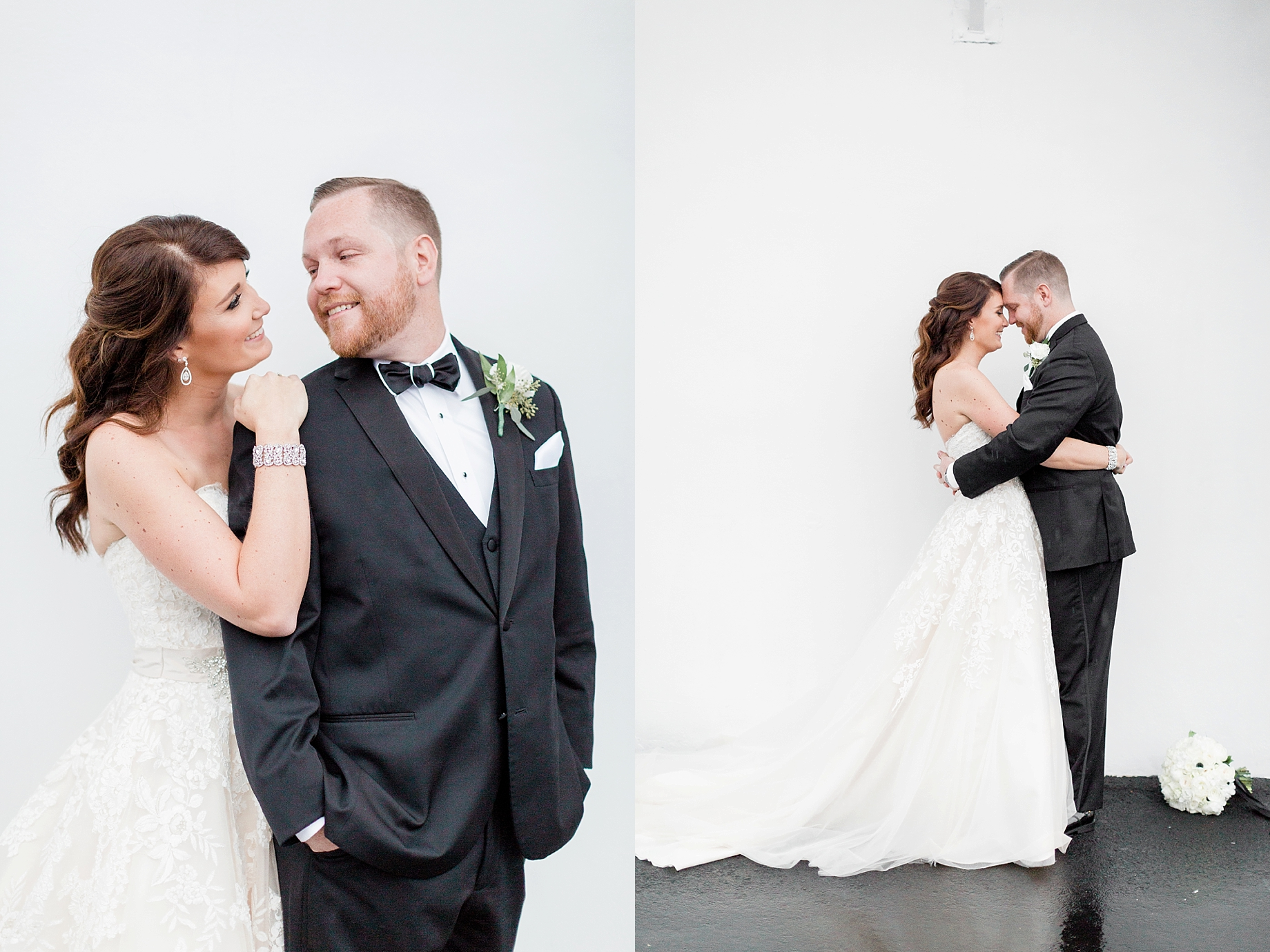 bride and groom portraits at the william penn inn