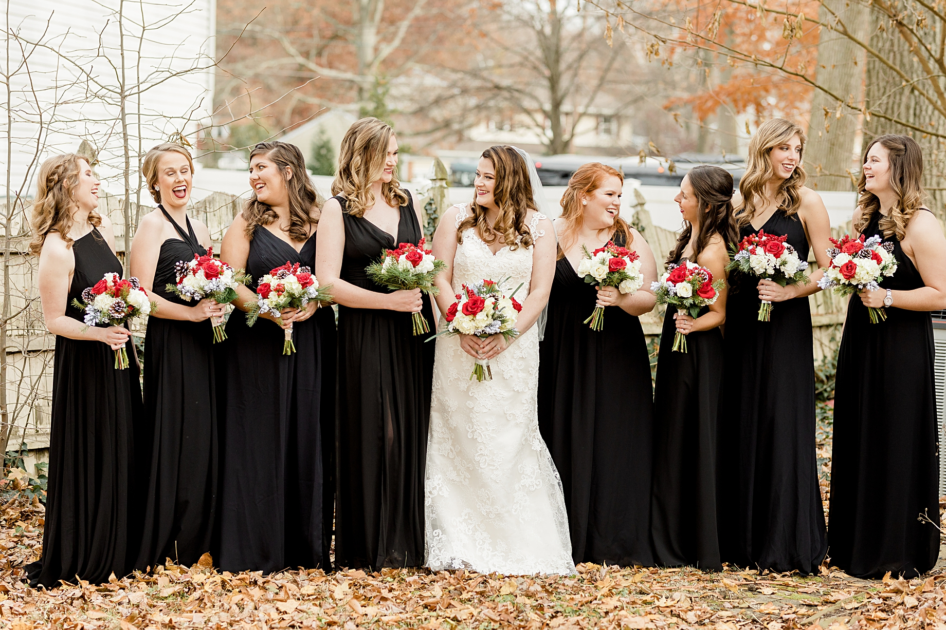 Christmas wedding color palette | Philadelphia Winter Wedding