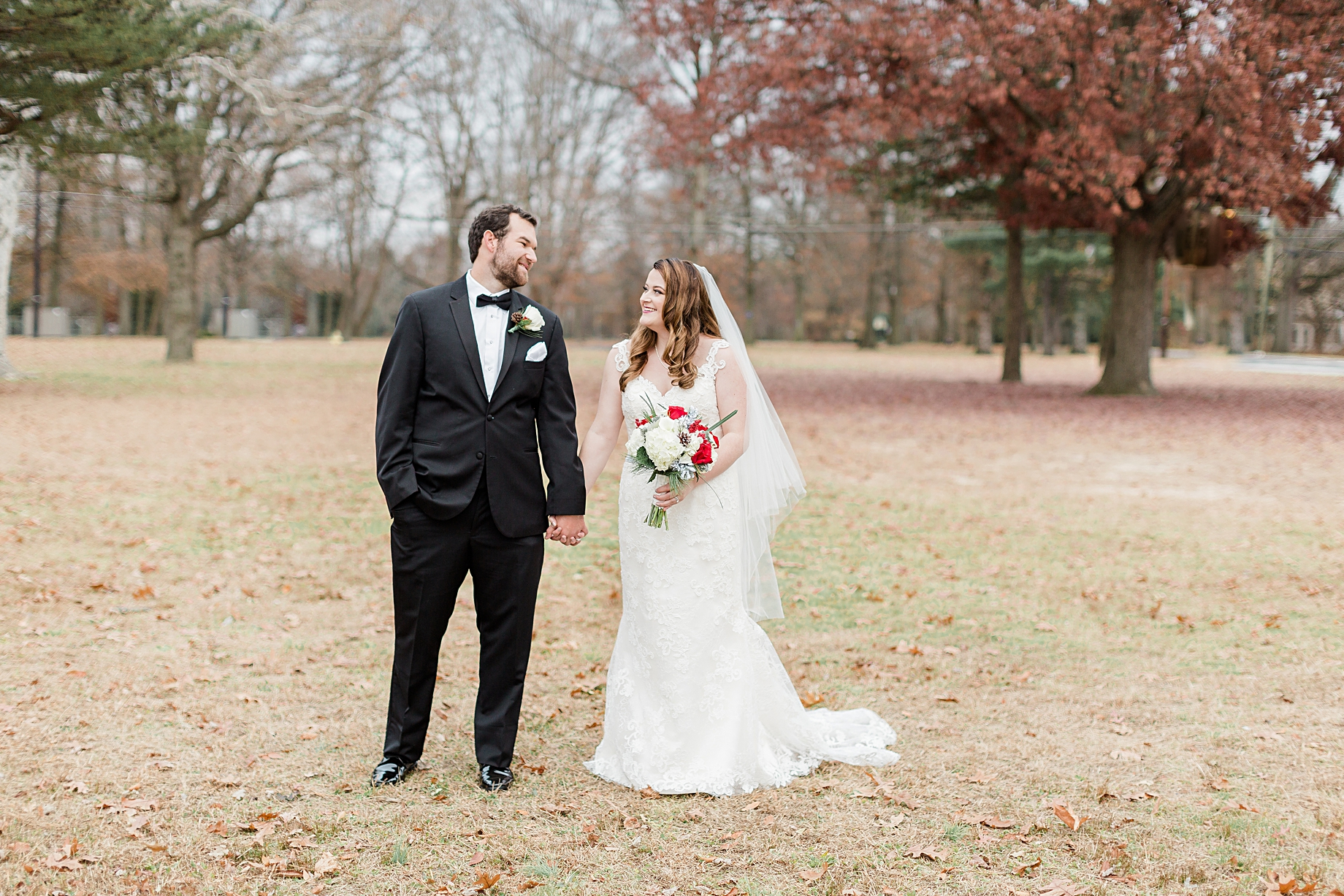Bride and Groom portraits | Philadelphia Winter Wedding