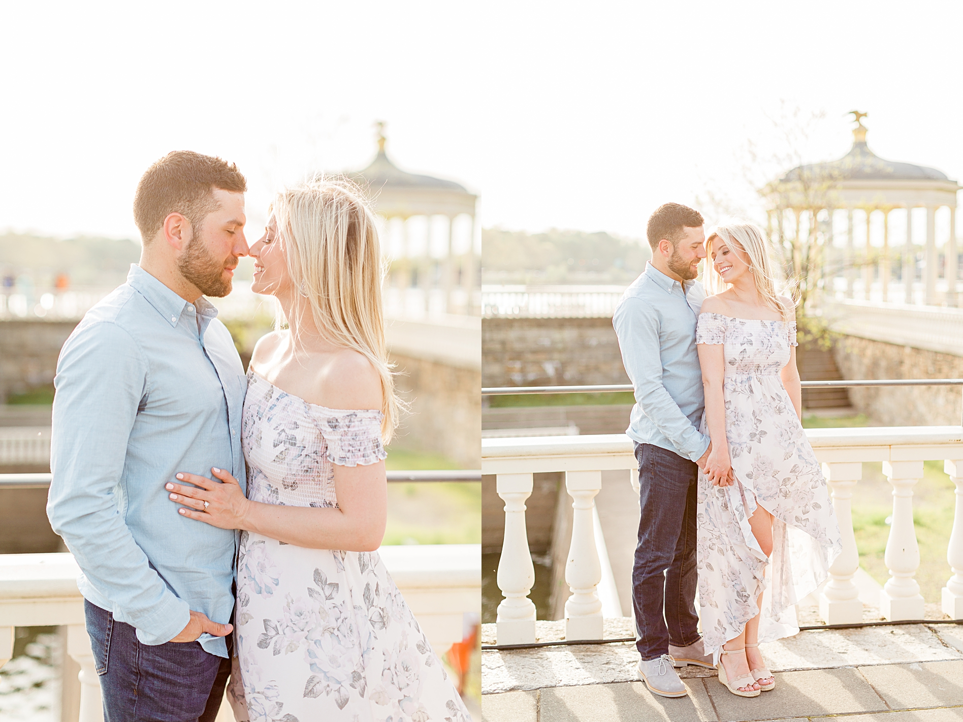 Water works Engagement Session