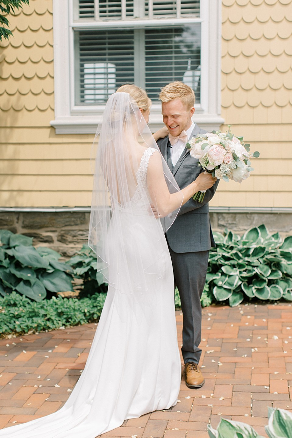 Philadelphia Cricket Club Wedding first look