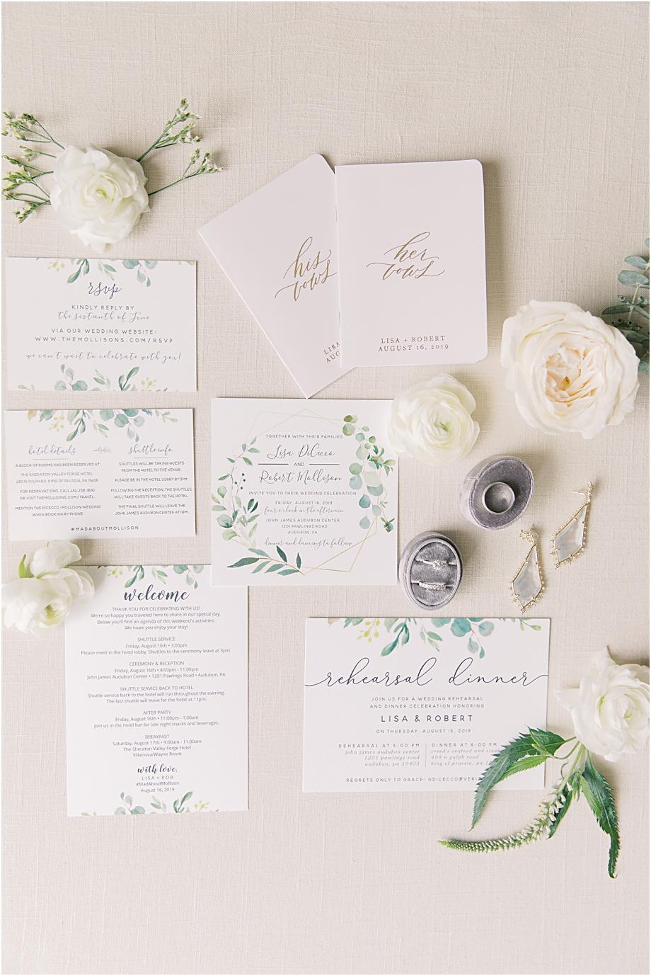 wedding details | bride getting ready | John James Audubon Center Wedding