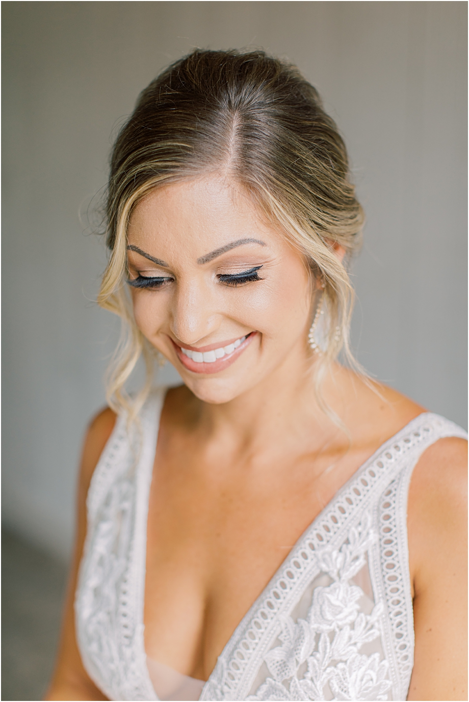 bride getting ready | John James Audubon Center Wedding