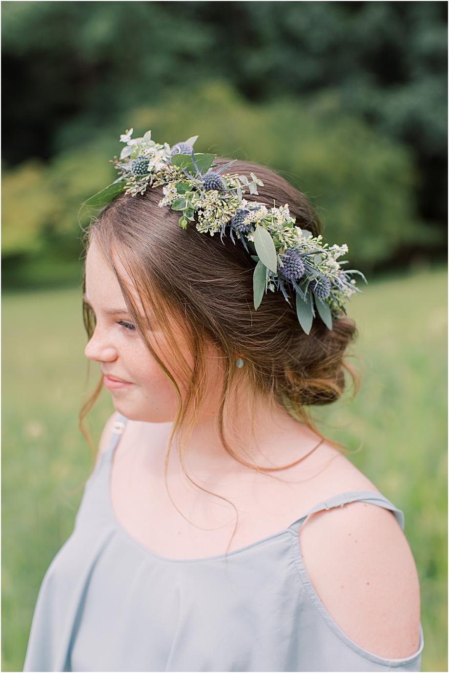 DFW Event Design Flower Crown