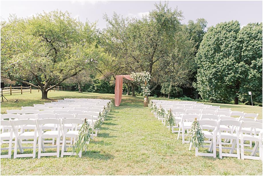John James Audubon Center Wedding Ceremony