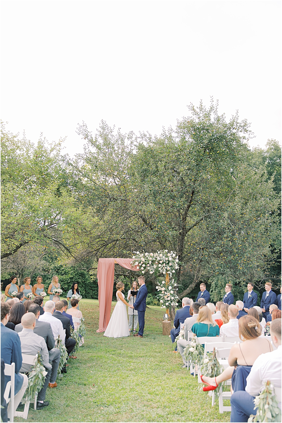 John James Audubon Center Wedding Ceremony