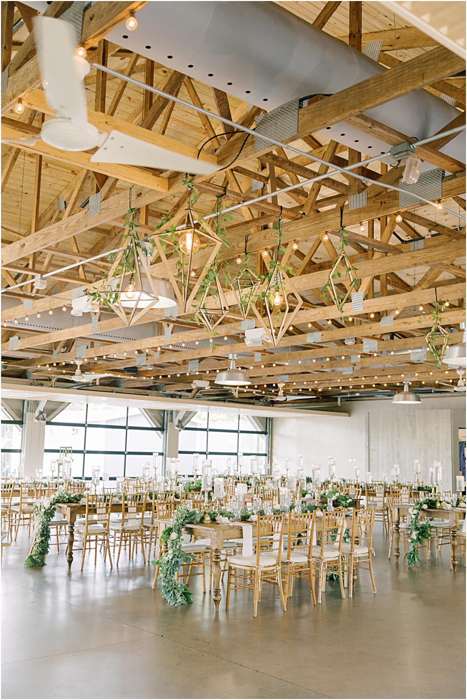 rustic wedding reception | John James Audubon Center Wedding