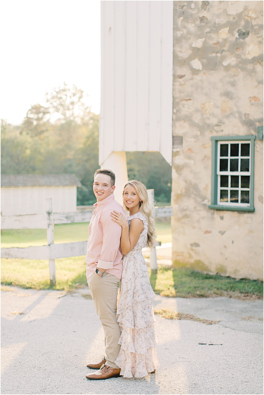 Knox Farm Engagement Session | Valley Forge Engagement Photographer Sarah Canning