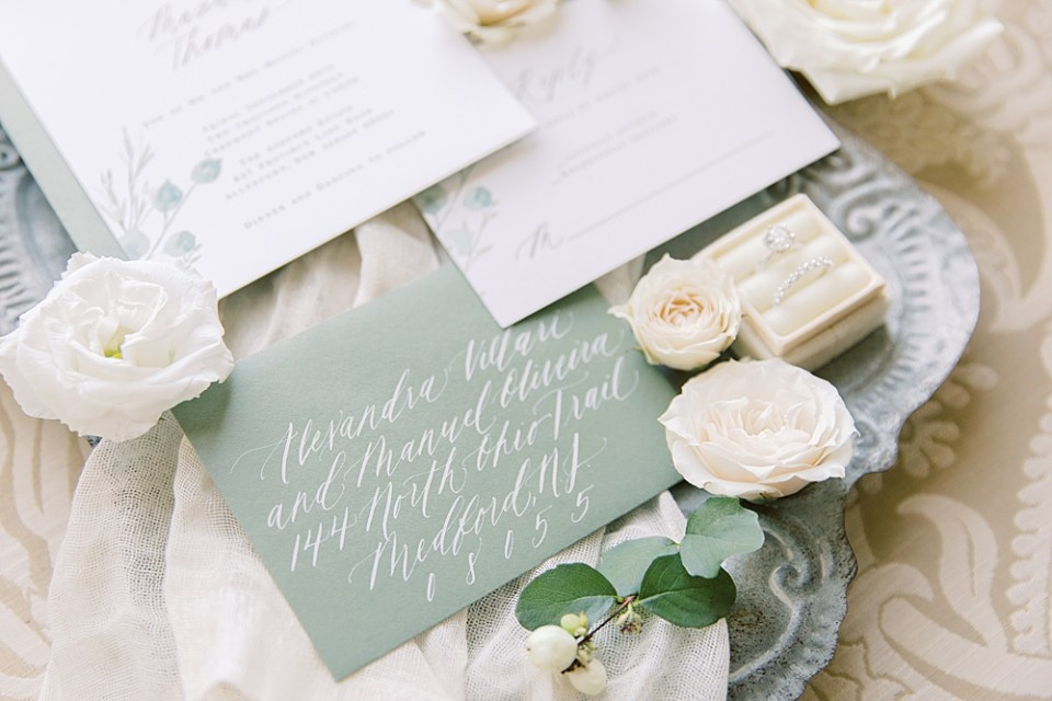 Calligraphy by Barely Blush Ink | Ashford Estate | Sarah Canning Photography