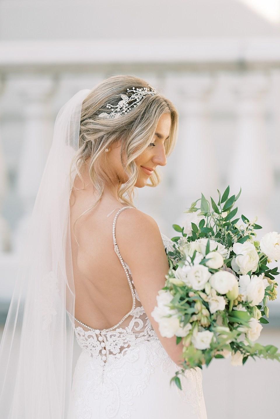 soft and romantic wedding portraits | ashford estate wedding photography | sarah canning photography