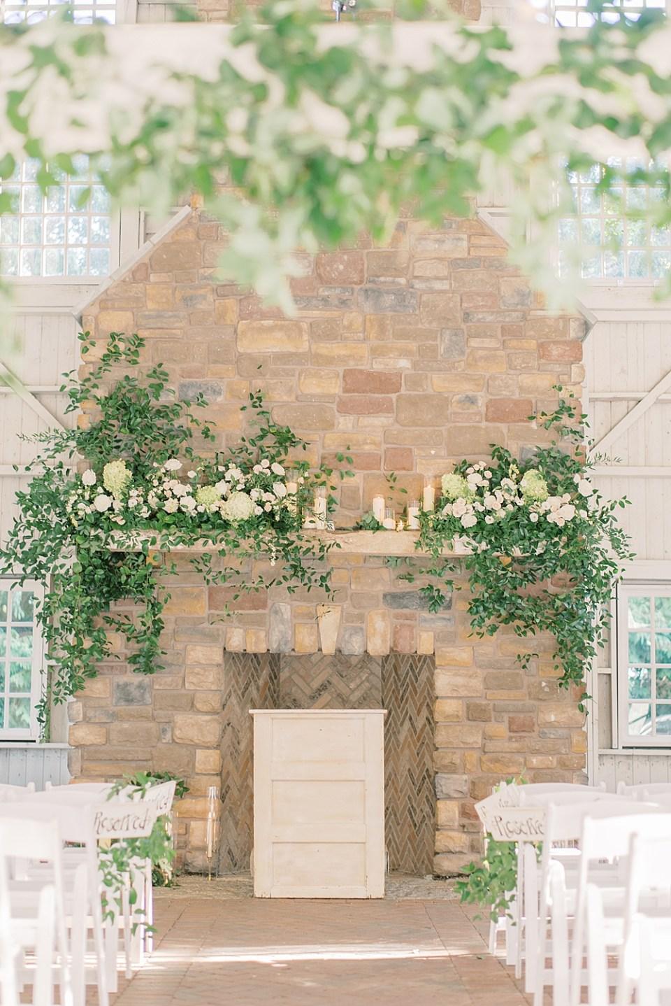 Ashford Estate wedding ceremony   whisper + brook flower co   new jersey wedding photographer sarah canning