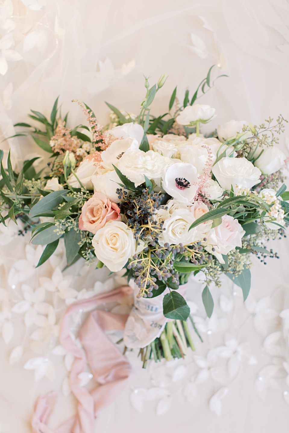 from peonies to paint chips bridal bouquet | bear brook valley wedding | sarah canning photography