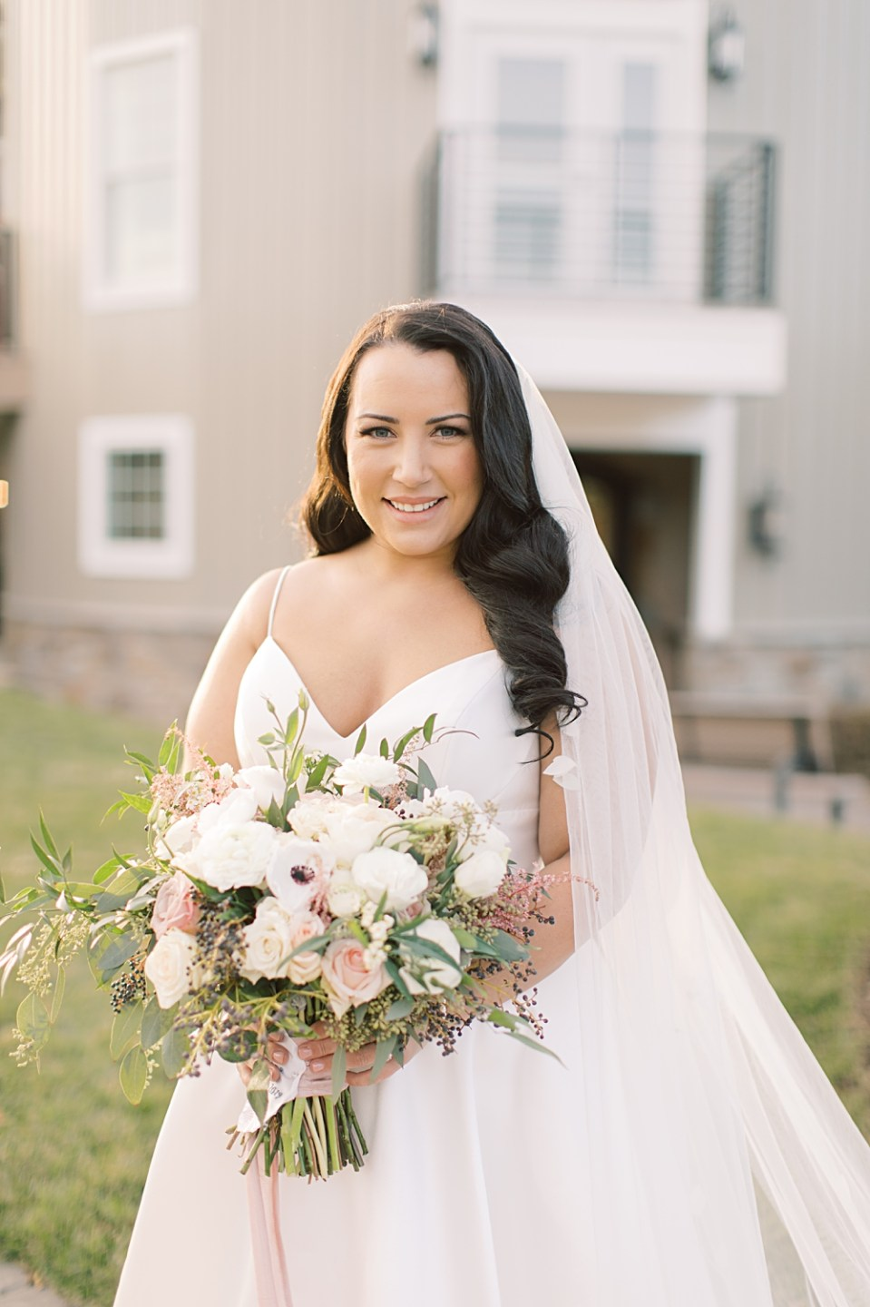 bridal portraits | bear brook valley | sarah canning photography