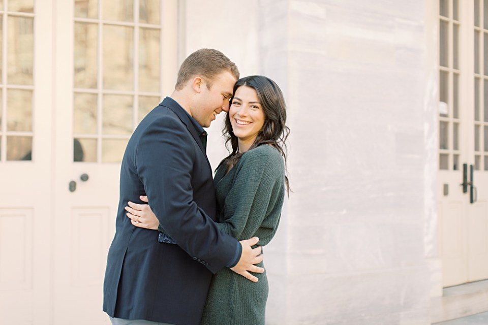 Old City Philadelphia Engagement Session | Sarah Canning