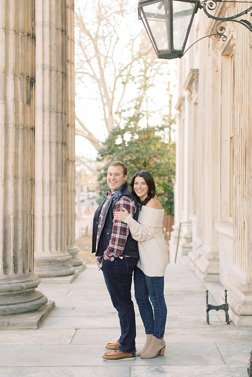 Old City Philadelphia Engagement Session | Wedding photographer Sarah Canning