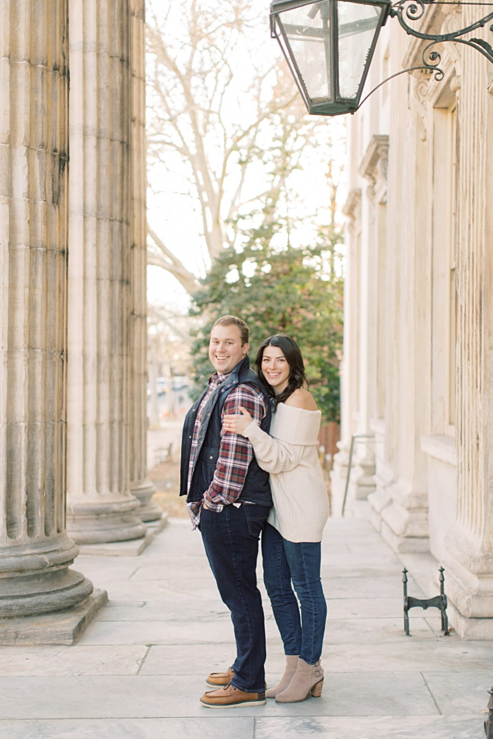 Old City Philadelphia Engagement Session | Wedding photographer Sarah Canning