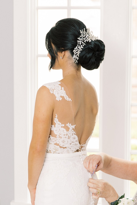 bridal hair by alisha nycole & co | ryland inn wedding photographer sarah canning