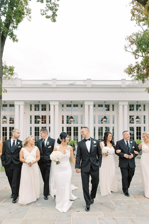 wedding party photos at the ryland inn | new jersey wedding photographer sarah canning