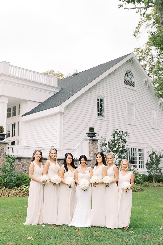 bridesmaid portraits at the ryland inn | sarah canning photography