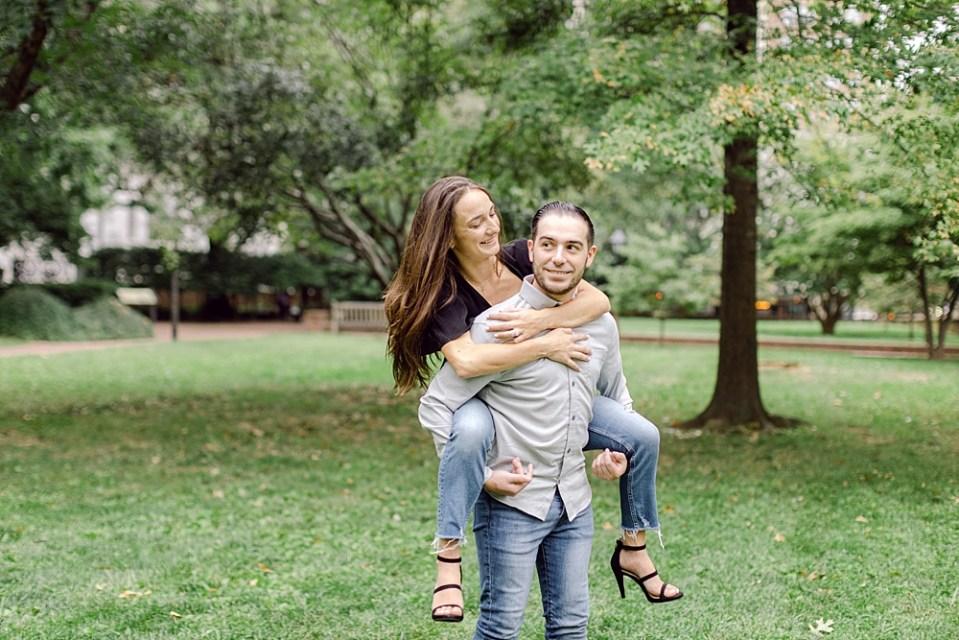 Engagement Photos in Old City Philadelphia