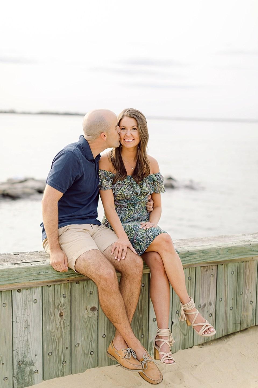 barnegat lighthouse | Long Beach Island Engagement | sarah canning