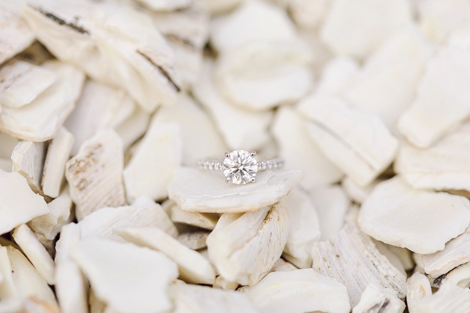engagement ring shot | sarah canning photography