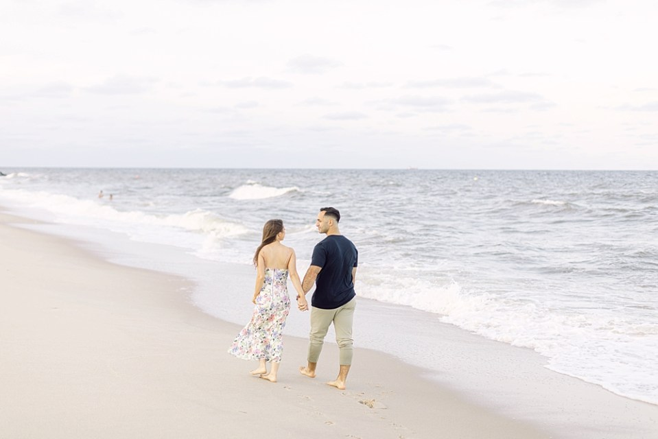couple on the beach | engagement photos | sarah canning photography