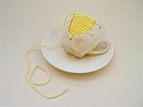 michelle taylor yellow knit web