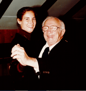 Lisa Hoffman and Grandfther