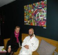 5. Abraham and Cassandra at Molitor Spa