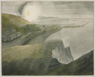 Shelling by Night 1941 Eric Ravilious 1903-1942 Presented by the War Artists Advisory Committee 1946 http://www.tate.org.uk/art/work/N05724