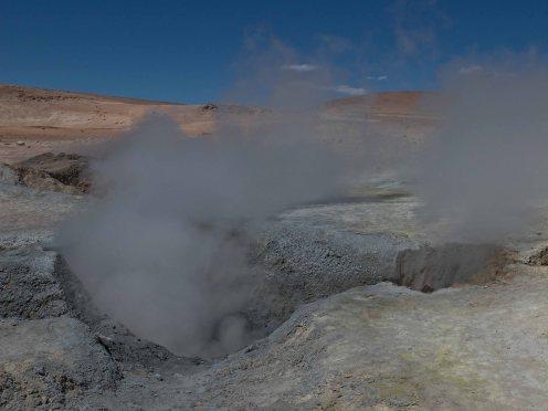 Stinky geysers.