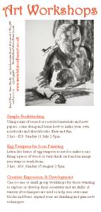 Summer Art Workshops