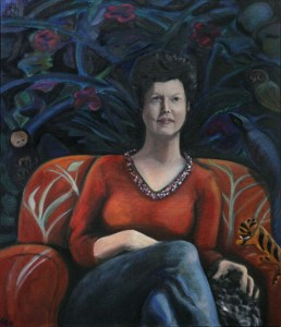 Louise's Portrait in Oils