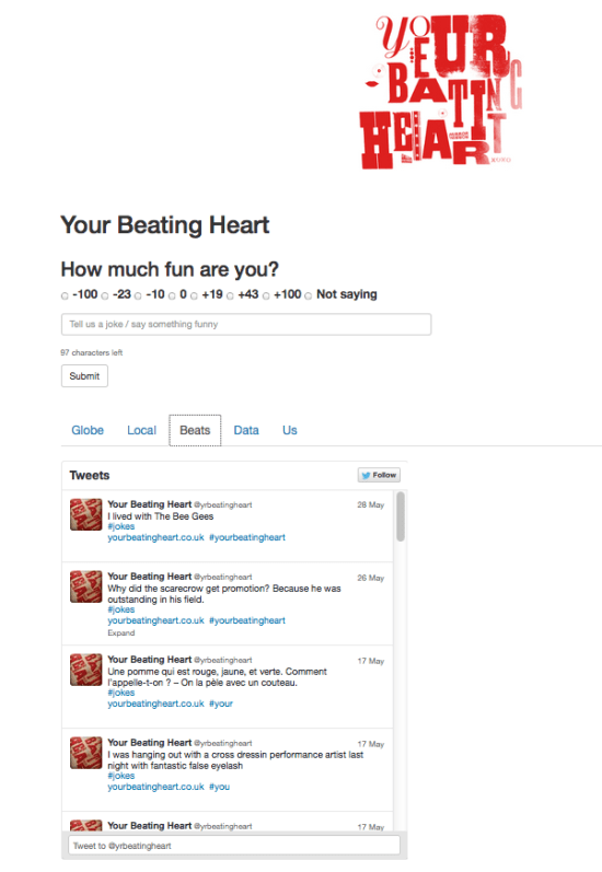 Your Beating Heart: The App