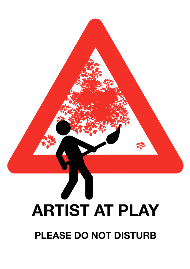 Artist at Play - Please Do Not Disturb