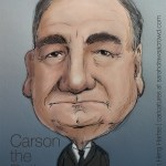 Downton Abbey's Carson the butler, played by Jim Carter